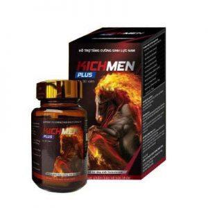 Kichmen plus tăng Testosterone mạnh mẽ từ bên trong