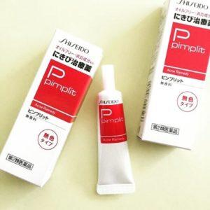 8.Kem trị mụn Shiseido Pimplit – Tiêu diệt tận gốc mụn trứng cá, mụn bọc, mụn đầu đen