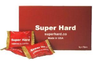 6.Kẹo Sâm tăng sinh lý Super Hard Ginseng & Coffee Candy
