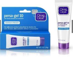 5.Thuốc trị mụn nhọt Benzoyl peroxid CLEAN-CLEAR PERSAGEL10