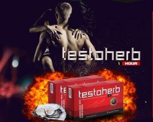 Testoherb 1 hour : Tăng Testosterone - Sung sức tới phút cuối của cuộc yêu