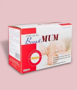 6.Cốm lợi sữa BreastMum giá bao nhiêu có tốt không ?
