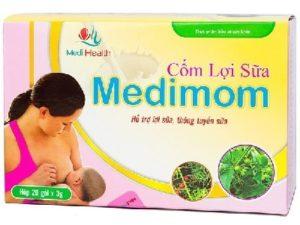 3.Cốm lợi sữa nào tố - Medimom
