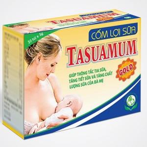 4.Cốm lợi sữa Tasuamum Gold