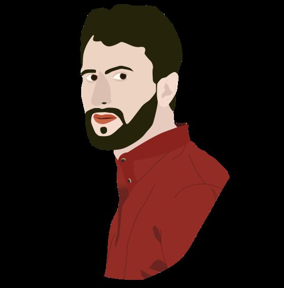 Marc Alcobé personal illustration