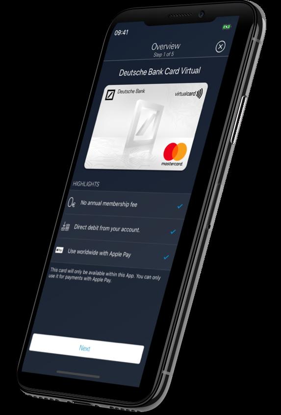 Deutsche Bank Mobile mock-up