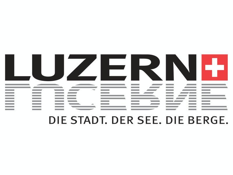 Luzern Tourismus Logo, Dino Reichmuth