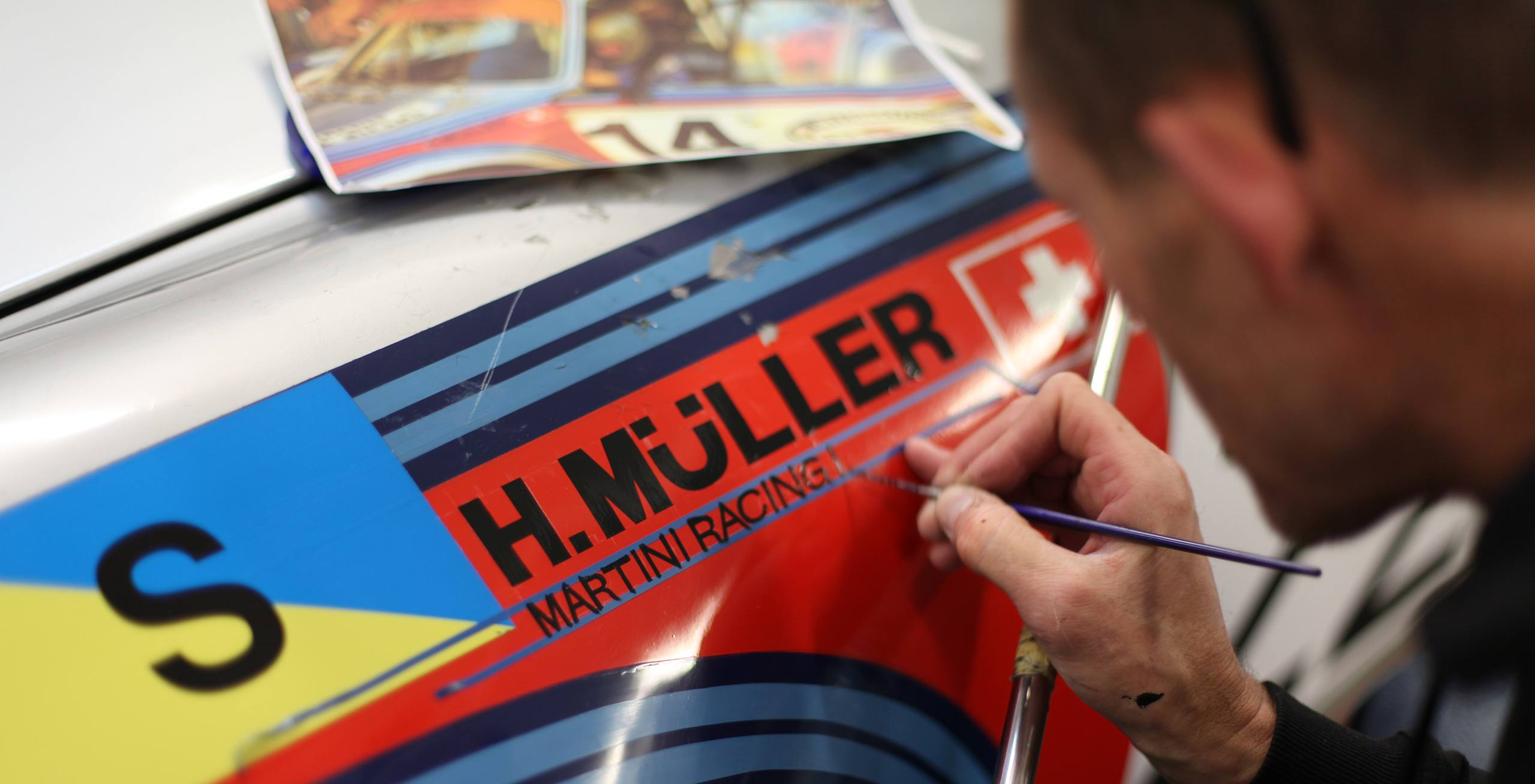 Maxed-Page Historic Porsche Specialists UK restoration