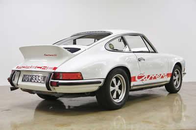 1973 Porsche Carrera 2.7 RS Touring - M472 - 911-360-1067 Maxted-Page 4 Classic & Historic Porsche