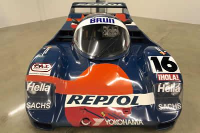 962-163 1990 Porsche 962c Brun Motorsport / Repsol Maxted-Page 03 Classic & Historic Porsche