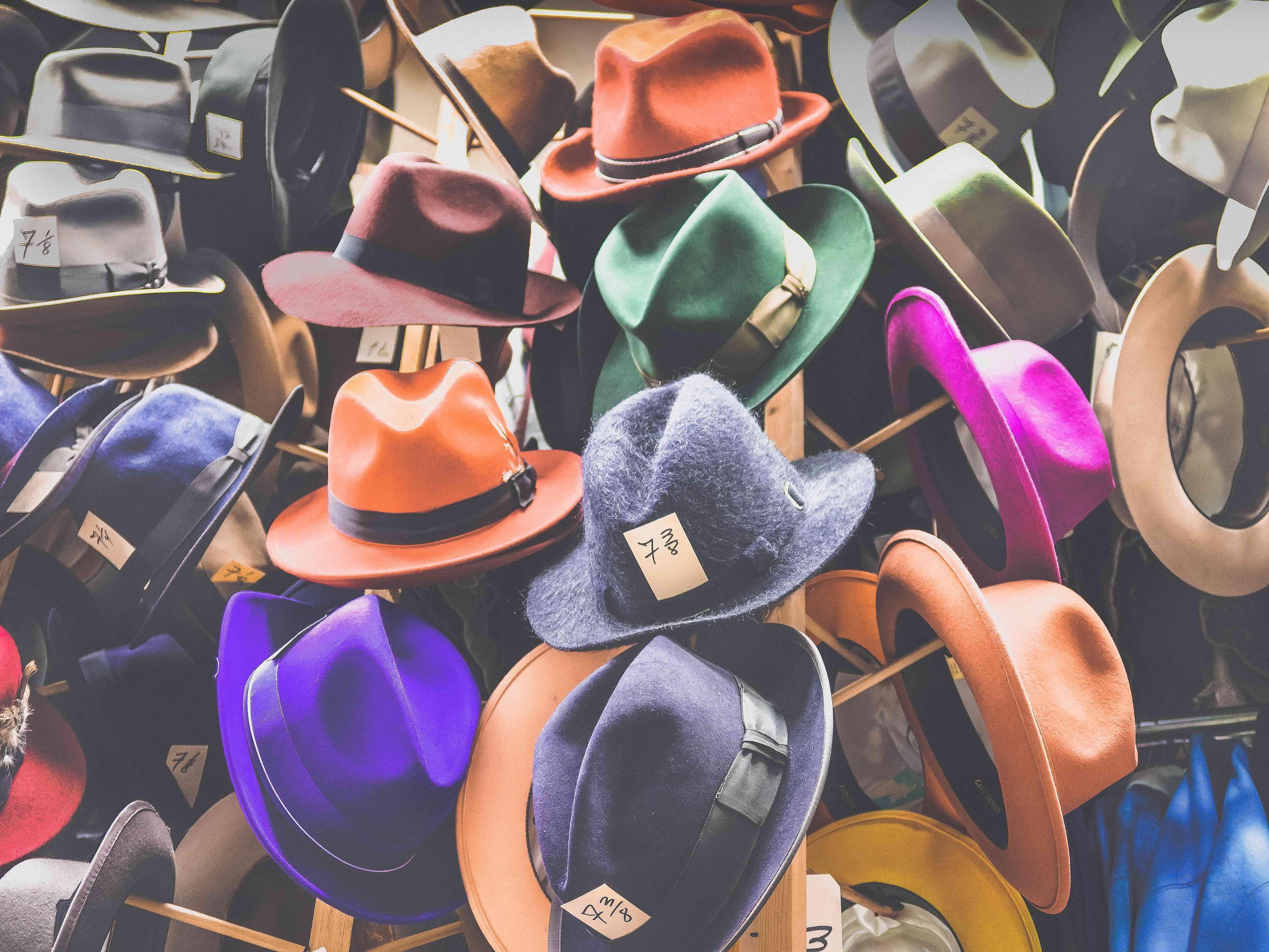 6 Hüte nach de Bono