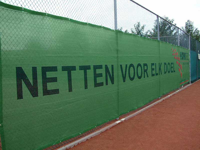 Tennis Windscreens