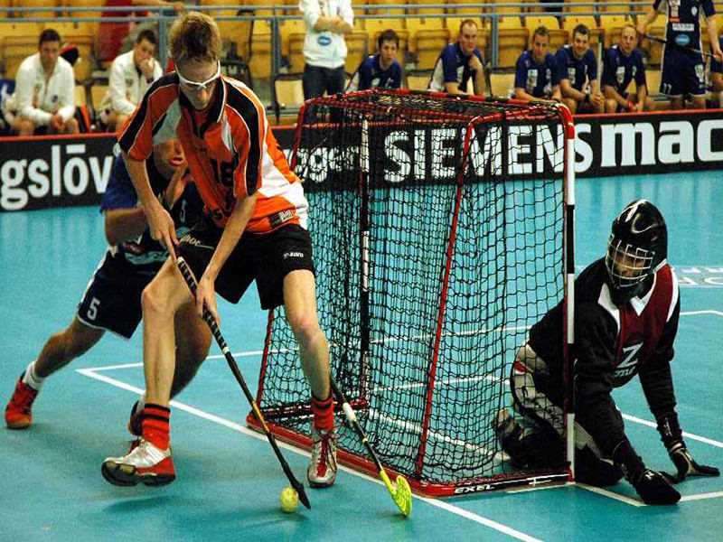 Floorball GoalNet1,6x1,15x0,4x0,6 m
