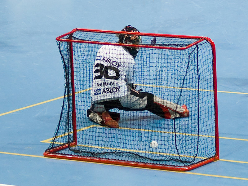 Floorball Goal Net 1x0,75x0,4x0,6 m