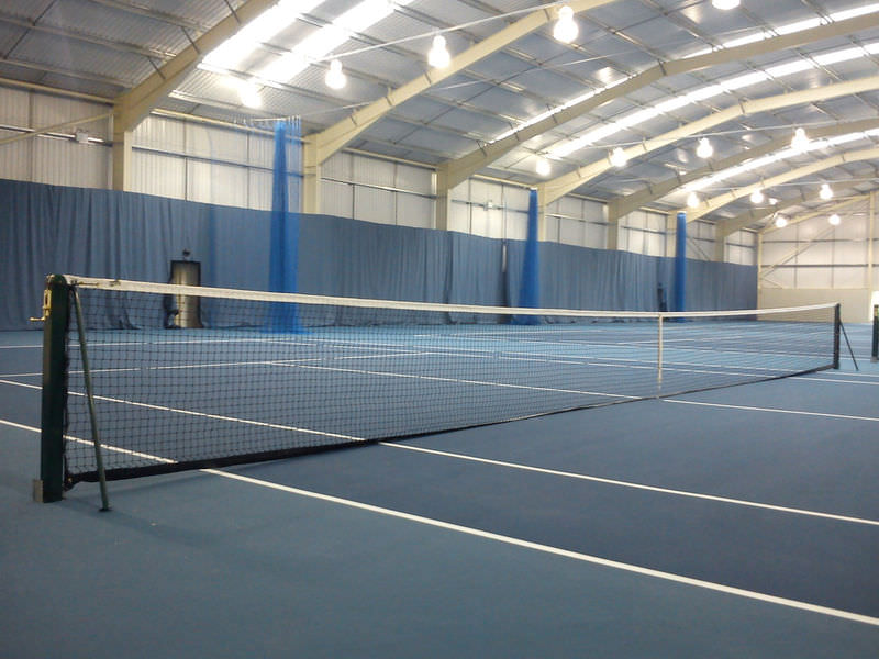 Tennisnet single topmesh