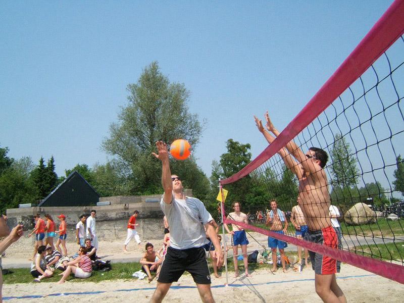 Beachvolleyball Trainingsnet
