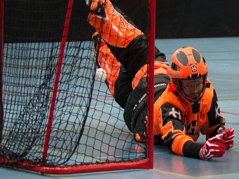 Floorball Goal Net 1,2x0,9x0,4x0,6 m