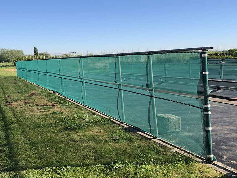 Quadra 105ME Windbreak Netting