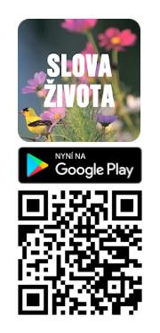 Nová aplikace na zamyšlení Slova života
