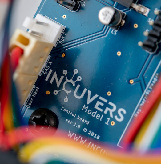 Incuvers Arduino board