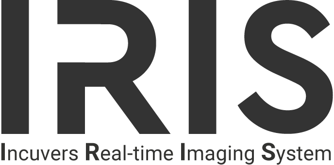 IRIS logo with Incuvers Real-time Imaging System acronym