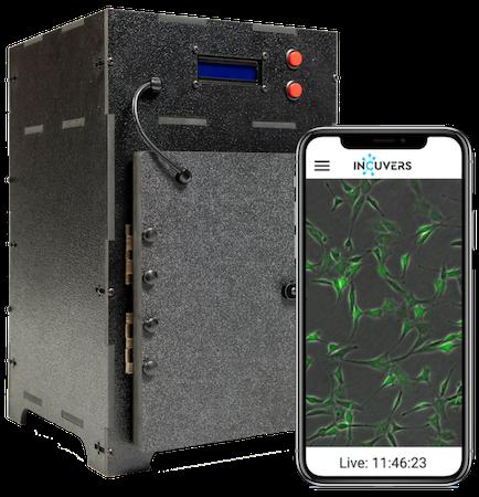 IRIS live cell imaging incubator