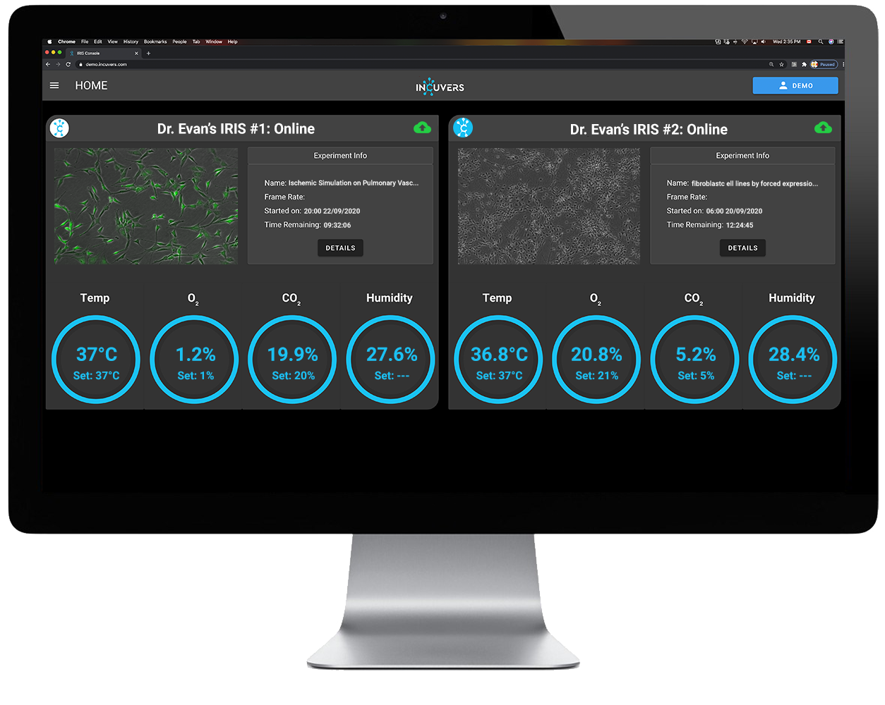 IRIS Lab Automation Console