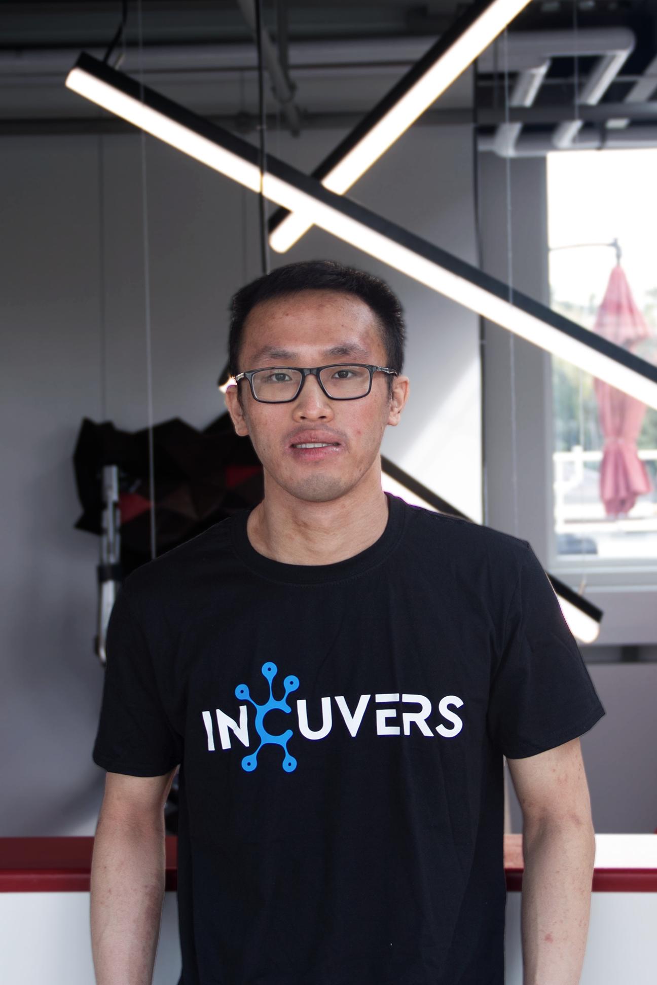Incuvers Software Developer Paul Laplante