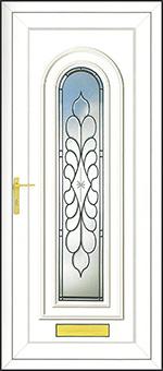 PVCu Front Door Design - Legend Ebony
