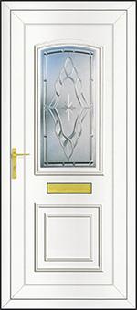 PVCu Front Door Design - Sentiment Clear