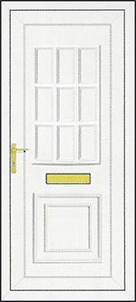 PVCu Front Door Design - Tyler