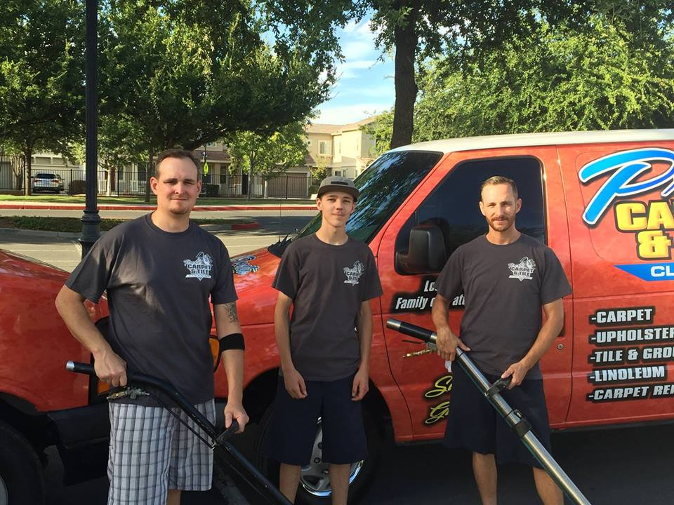 family owned and operated carpet cleaning team
