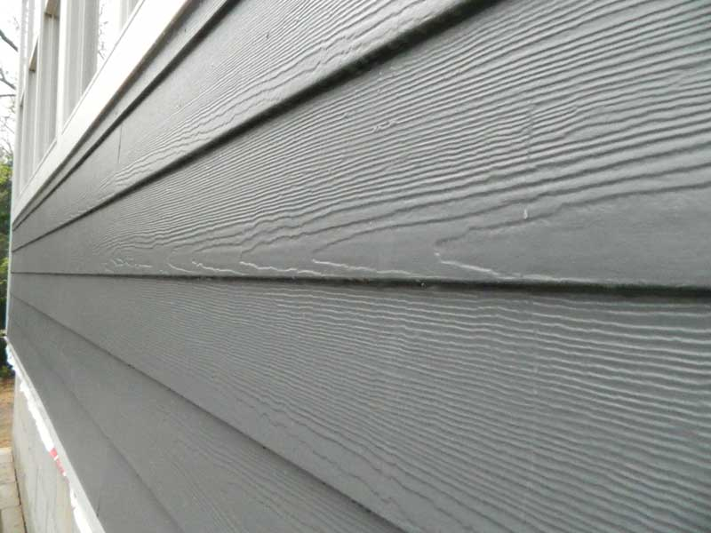 Outside Facade of Hixon Repaired Home