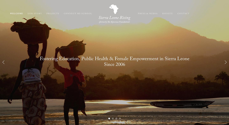 Sierra Leone Rising