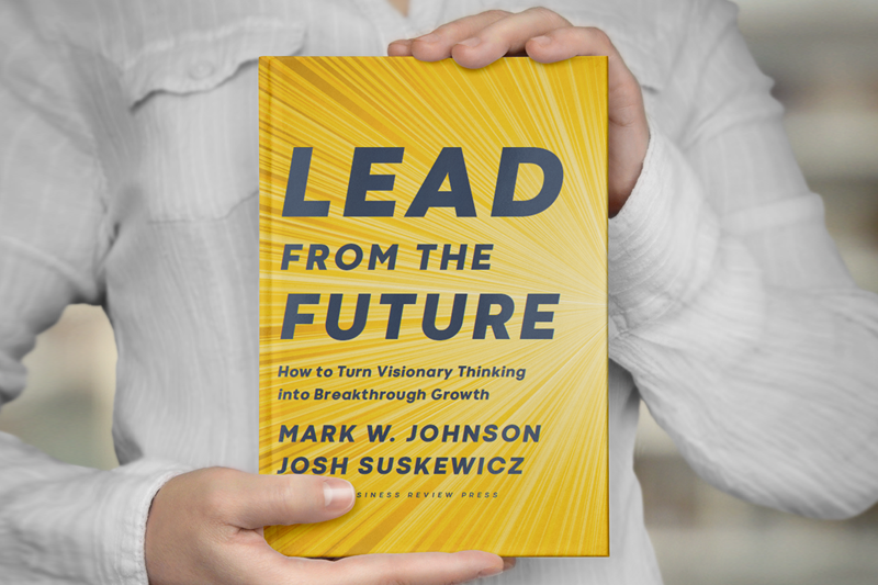 Lead From The Future Book cover