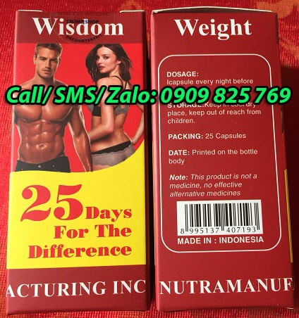 Mua thuốc tăng cân Wisdom Weight tại Thanh Hoá ở đâu