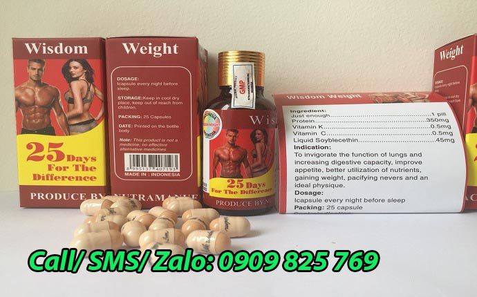 Mua thuốc tăng cân Wisdom Weight tại Hà Nội