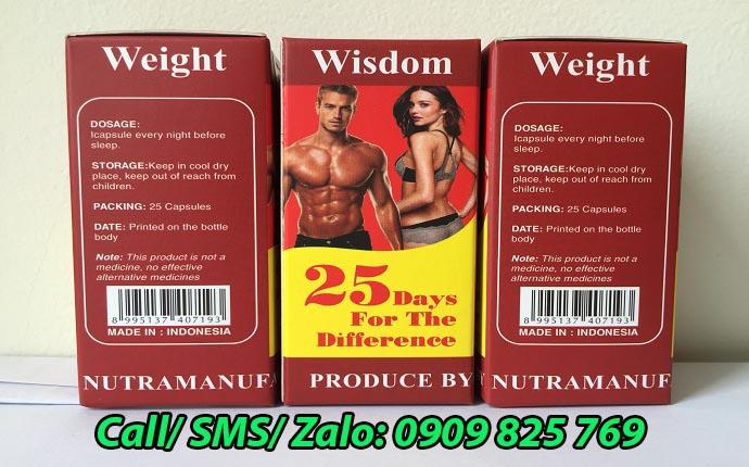 Mua thuốc tăng cân Wisdom Weight tại Cà Mau