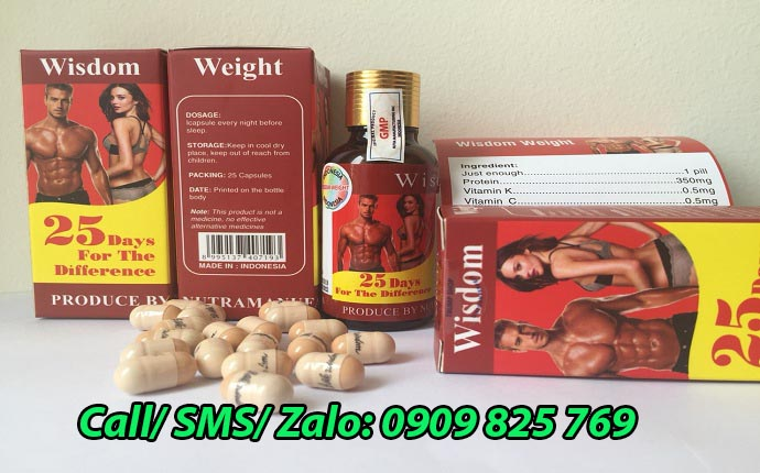 Mua thuốc tăng cân Wisdom Weight tại Thanh Hoá