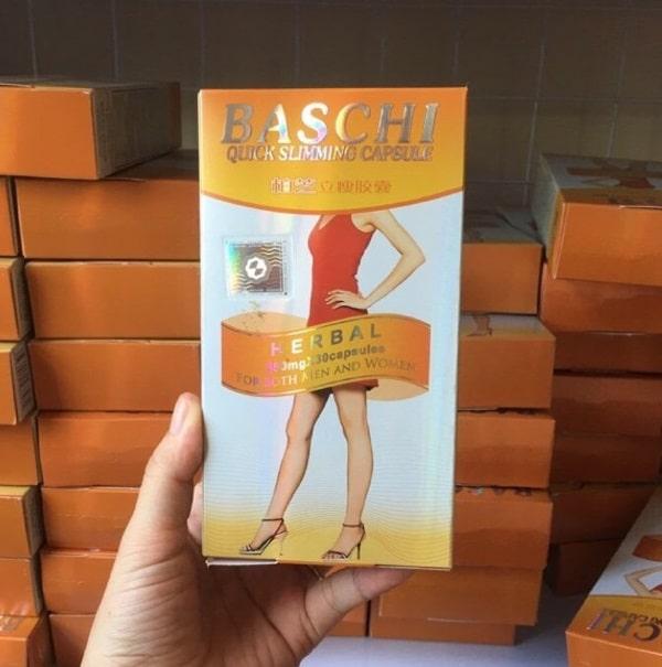 Thuốc giảm cân Baschi cam đạt hiệu quả tốt nhất