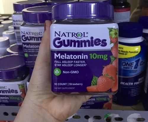 Kẹo ngủ Natrol Gummies mua ở đâu chính hãng của Mỹ