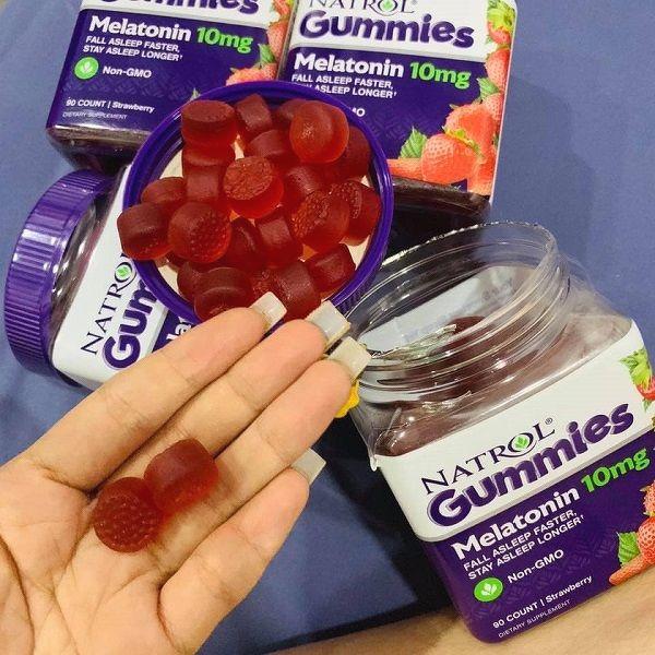 Kẹo ngủ Mỹ giúp ngủ ngon Natrol Gummies 10mg hiệu quả nhanh chóng