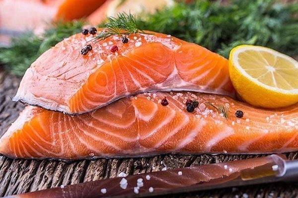 Cá hồi giúp tăng cường sinh lý