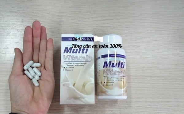 Thuốc tăng cân an toàn Multi vitamin
