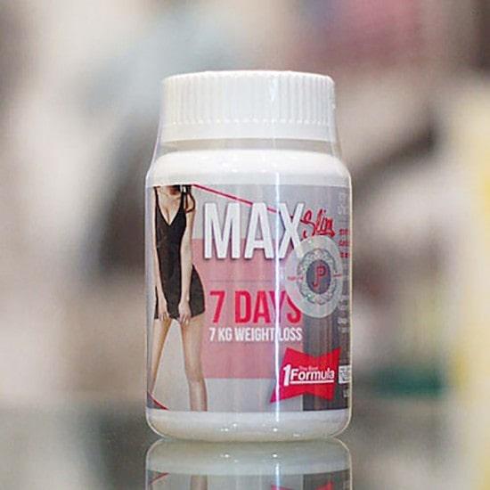 Thuốc giảm cân Max Slim 7 Day của Thái Lan