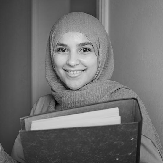 Wetzling & Habel – Iness Sadiki, Auszubildende zur Rechtsanwaltsfachangestellten