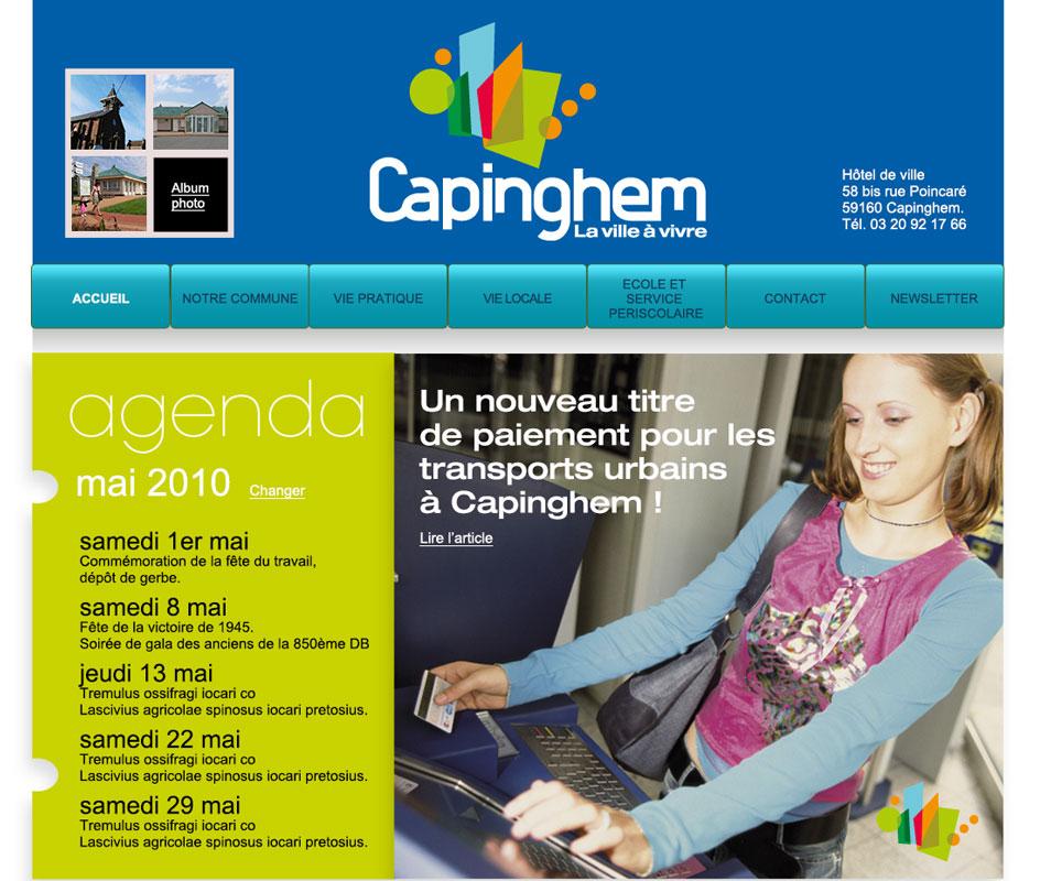 "site internet ""capinghem"""