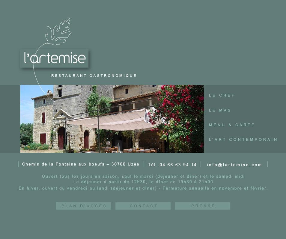 "site internet ""artemise"""