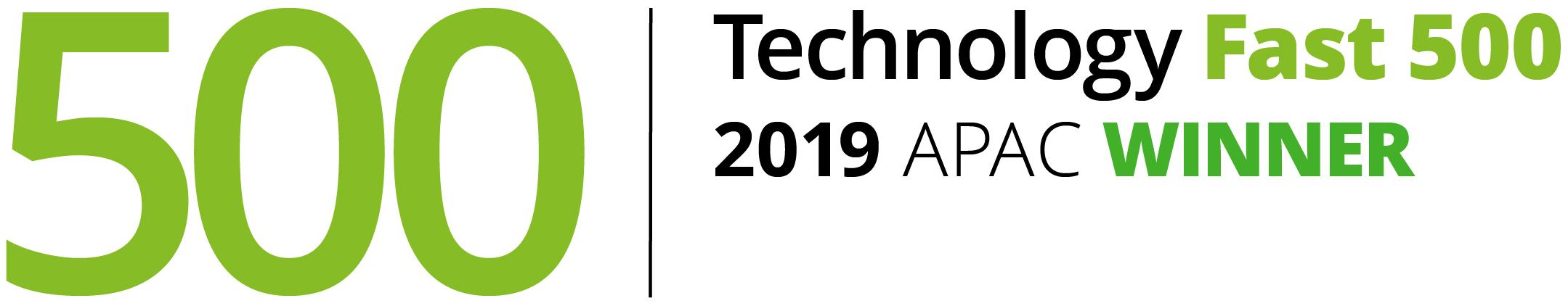 Technology Fast 500 2019 APAC Winner