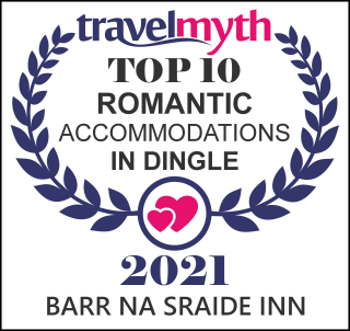 Travel Myth Top 10 Romantic Accommodation in Dingle Award icon